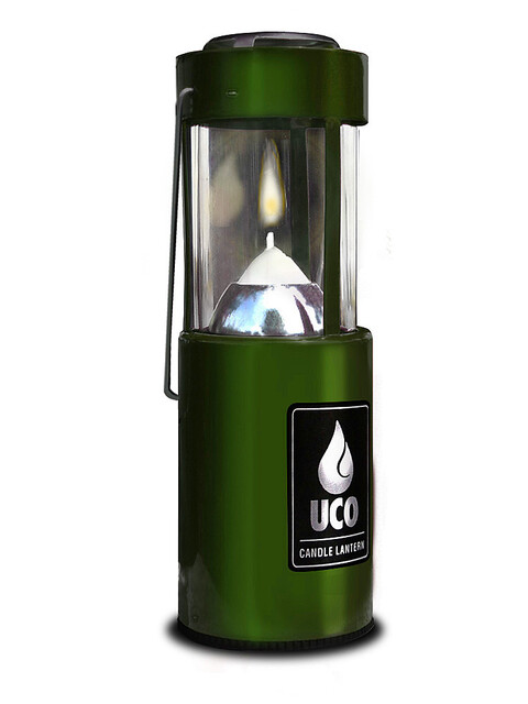 UCO lampe à bougie vert